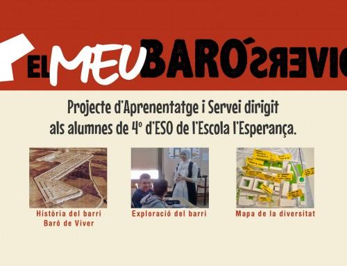"""Projecte d'Aprenentatge i Servei """"El meu Baró Divers"""""""