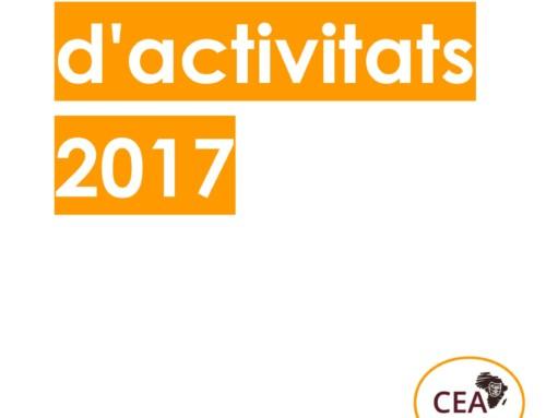 Memòria d'activitats 2017