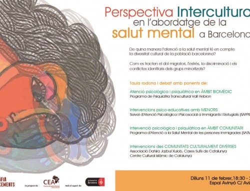 Workshop 11 febrer: Perspectiva intercultural i salut mental